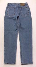 J41 VTG USA CK Calvin Klein High Rise Straight 5 Pkt Mom Jeans sz 8 (28x30.5)
