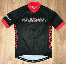Specialized rare Black cycling jersey size L