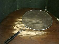 Vintage Grease Splatter Screen for Frying Pan