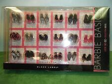 BARBIE BASIC LOOK NO. 02 COLLECTION 001.5 ACCESSORY SHOE PACK *NEW*