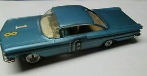 Vintage 1960 Pontiac Bonneville 2dr Hardtop 1/24th Scale Slot Car No Reserve