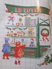 Magazin,Creation Point de Croix ,43,Veronique Enginger,Weihnachten,Kinder,Haus