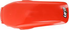 UFO Rear Fender Fits Honda CR125 85-90,CR250 85-89,CR500 85-90 Orange/Red Color