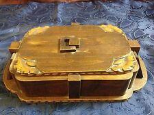 Art. 14 - Ias - Old Box in wood epoch Decò