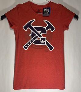 New Adidas Chicago Fire MLS Womens Medium Shirt Red