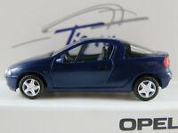 Herpa/Opel Opel Tigra (1994-2001) in dunkelblaumetallic 1:87/H0 NEU/OVP