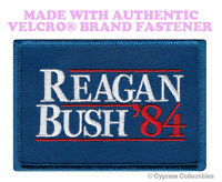 REAGAN BUSH 84 MORALE PATCH USA REPUBLICAN TACTICAL w/ VELCRO® Brand Fastener