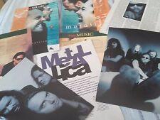METALLICA 1994-2001_Hammett_Ulrich_Hetfield_Trujillo_italian clippings_articoli