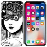 Junji Ito Tees Horror Case iPhone 5 6 6S 7 8 + plus X XR XS 11 Pro Max SE 2nd