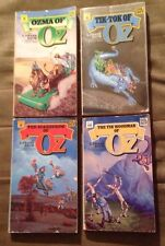 Lot of 4 Wizard of Oz books - Ozma, Tik-Tok, Scarecrow, Tin Woodman