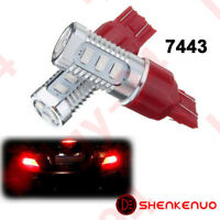 2PCS 7443 7440 Rear Turn Signal Light Red LED Bulb for 03~17 Honda Accord Civic