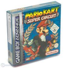 GameBoy Advance - Mario Kart Super Circuit Nintendo Red Strip SEALED NEW & BOXED
