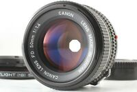 *Near Mint* Canon New FD 50mm F1.4 MF Manual Focus Standard Lens From JAPAN