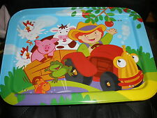 kids lap tray Old MacDonald McDonald's Farm animals NICE