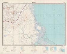 Russian Soviet Military Topographic Maps - MACAPA (Brazil), ed. 1966