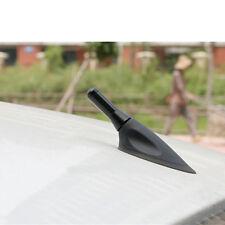 """1.4"""" Stubby Real Carbon Fiber Aluminum Screw Car Mast AM/FM Radio Antenna Aerial"""