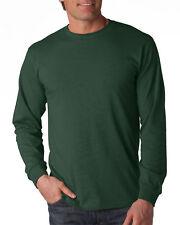 Fruit of the Loom Adult Heavy HD Long Sleeve Bottom Hem Cotton T-Shirt. 4930