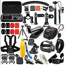 50 en 1 Kit de Accesorios compatible cámara Go-Pro, sj5000 sj4000 sj6000 Xiaomi