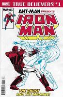 Ant-Man Presents Iron-Man Comic Issue 1 True Believers Classic Reprint 2018