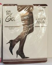 On The Go Nude Lace Top Sheer Thigh High Queen Size Hosiery