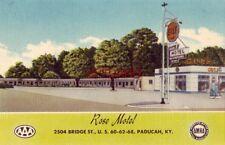 ROSE MOTEL, Bridge St PADUCAH, KY 1955