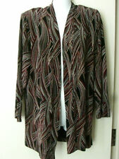 Polyester Thin Geometric Jumpers & Cardigans for Women