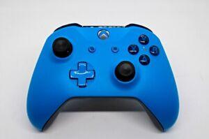 Microsoft Xbox One Wireless Controller 1708 BLUE - Brand New Thumbsticks
