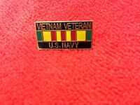 VIETNAM VETERAN US NAVY HAT/LAPEL PIN
