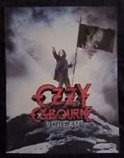 OZZY OSBOURNE Scream big poster 70x54cm (28x21 inch)
