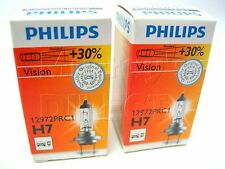 COPPIA PHILIPS OEM H7 12V 55W High Output [ +30% ] LAMPADINE VW T5 Transporter