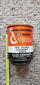 Original Vintage OEM NOS Allis-Chalmers 240912 Oil Filter WD WD40
