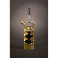 Oil And Vinegar Glass Bottle Pourer Cruet Dressing Drizzler Storage Dispenser