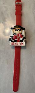 vintage hamburglar McDonald's McKids rare flip digital watch