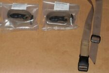 Lot of ( 2) Molle Leg Lashing Pack Straps Coyote Brown Alice Army USGI