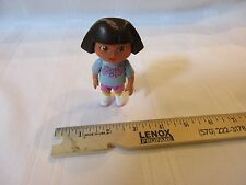 Mattel Dora The Explorer Doll Cake Topper Blue Floral Talking Van Figure Girl