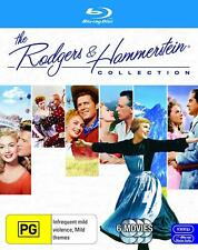 The Rodgers and Hammerstein Collection Blu Ray - 6 Movies on 8 Discs