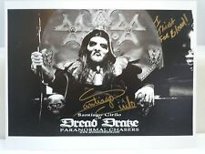 SIGNED SANTIAGO CIRILO 8x10 Dread Drake Paranormal Chasers Foxprowl-Con 2015