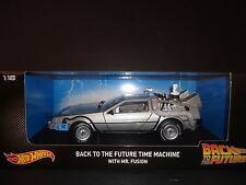 HOT WHEELS DeLorean Time Machine con Mr Fusion Ritorno Al Futuro 1/18 CMC98