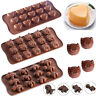 12/15 Cavity Silicone Heart Candy Chocolate Cake Soap Mold Baking Ice Tray Mould