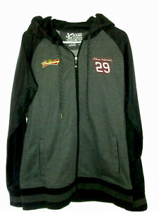Kevin Harvick Budwieser Zip Up Hooded Jacket Nascar XL Chase Authentics Apparel