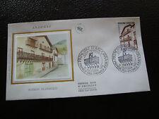 ANDORRE (francais) - enveloppe 1er jour 15/10/1983 (architecture)(cy63)andorra(A