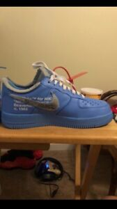 off white air force 1 size 9