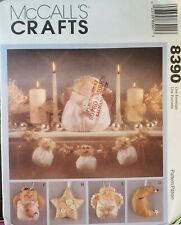 McCall's Crafts pattern 8390 Heavenly Dolls Garlands, Wreath, Ornaments uncut