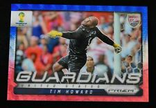 2014 Panini Prizm World Cup Guardians #24 Tim Howard Red Blue Wave Prizm USA