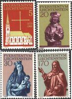 Liechtenstein 470-473 (kompl.Ausg.) gestempelt 1966 Kirche