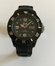 ⌚ Montre Enfant Junior Ice Watch Bracelet Noir Réf: 000123 Bracelet Silicon