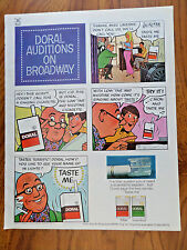 1971 Doral Cigarette Ad Auditions on Broadway