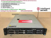 Dell PowerEdge R510 2x X5670 64GB PercH200 4x 1TB SATA 8LFF 2U Rack Server