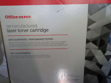 Office Depot remanufactured LaserJet  Cyan Toner Print Cartridge Q5951A