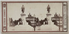 Echtes Original 1870er Jahre Stereofoto MILANO, von Giorgio SOMMER